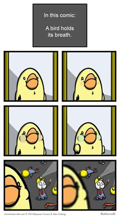 Just a bird holding its breath - 9GAG