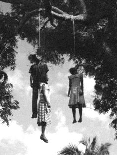 Unidentified Man and Two Women Lynched.