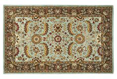 "8'3""x11' Lauro Rug, Blue/Brown on OneKingsLane.com, $459"