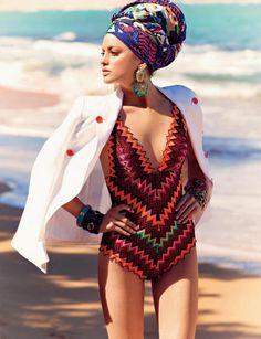 Beach turban