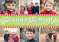 Candy Cane Christmas Christmas Card- photo card from Shutterfly