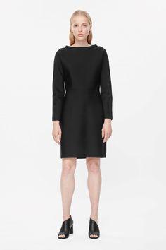 COS+|+Standing+collar+dress