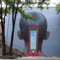 "Seth Globepainter - ""Dream big China"", 798 art district, Beijing, China for @backtoschool_china, September 2016"