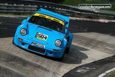 Porsche 911 RSR (1975) an der Historic Trophy Nürburgring 2015 - Youngtimer Trophy und FHR Langstrecken Cup. © FabPetersson Fotografie für Zwischengas
