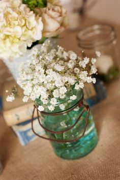 Babys Breath Decor by Boho