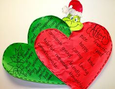 """Hello Everyone! Thanks for stopping by this little """"Window On Wonder!"""" I hope you had a wonder filled Christmas with friends and family. Grinch Christmas Party, Grinch Who Stole Christmas, Grinch Party, Preschool Christmas, Holiday Fun, Holiday Ideas, Christmas Activities, Christmas Themes, Winter Activities"""