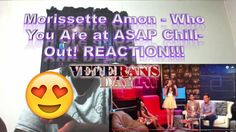 Morissette Amon - Who You Are at ASAP Chill-Out! REACTION!!!