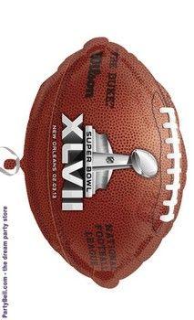 Super Bowl XLVII Foil Balloon  2.17 Sports Costumes c092e9469