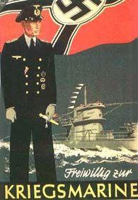 "German propaganda ""Volunteer for the Kriegsmarine (navy)"" Recruitment poster Nazi Propaganda, Propaganda E Marketing, Ww2 Posters, German Submarines, German Army, Expo, World War Two, Vintage Posters, Pinup"