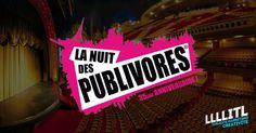 10 invitations À GAGNER pour la Soirée VIP des Publivores 2015 : http://bit.ly/NuitPub15 #Publivores #Publicite #Paris