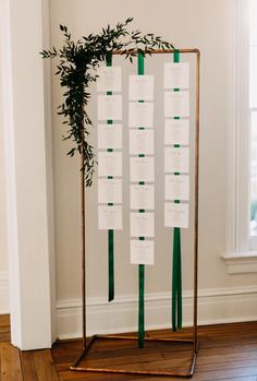 Greenhouse Picker Sisters rental- small copper arborYou can find Seating charts and more on our website. Reception Seating Chart, Table Seating Chart, Seating Plan Wedding, Wedding Signage, Wedding Table, Diy Wedding, Seating Plans, Wedding Parties, Wedding Favors