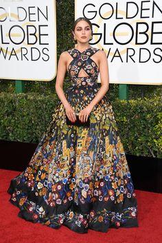 Olivia Culpo Golden Globes 2017. I love this dress.