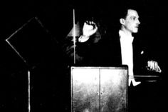Theremin and his theremin