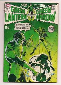 Green Lantern 76 Original DC Comic Book from 1970 With Green Arrow Key Issue   eBay