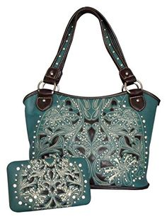 Montana West Concealed Carry Purse & Wallet Set, Western Gun Holster Handbag, Concealment Purse Montana West http://www.amazon.com/dp/B00OZV285U/ref=cm_sw_r_pi_dp_BYnxub13CGWWY