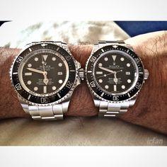 Rolex Sea Dweller Deepsea & Sea Dweller 4000