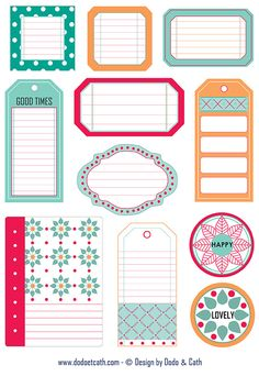 Free Labels and Tags {right click to download}