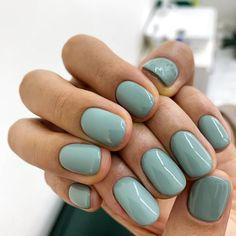 38 Amazing Gel Nails To Inspire Stylish Nails, Trendy Nails, Cute Nails, Minimalist Nails, Hair And Nails, My Nails, Nagel Gel, Nail Inspo, Manicure And Pedicure
