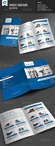 98 best Product Catalog Template  Design images on Pinterest - Product Brochure Template