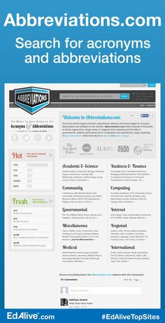 AbbreviationZ : Acronyms & Abbreviations Search Engine ...