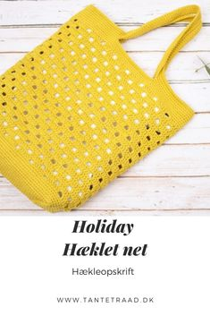 Diy Crochet, Crochet Pattern, Net Bag, Crochet Handbags, Hacks Diy, Crochet Accessories, Diy Projects To Try, Purses And Bags, Kids Crafts