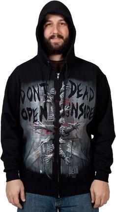 Dead Inside Walking Dead Hoodie - http://www.ineedthatshit.com/dead-inside-walking-dead-hoodie/
