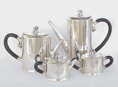 William Spratling sterling Jaguar coffee set
