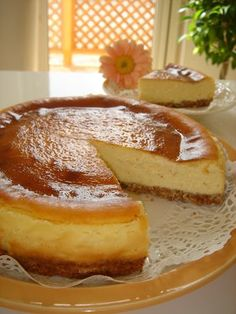 Japanese Cheese Cake: The Basic Recipe
