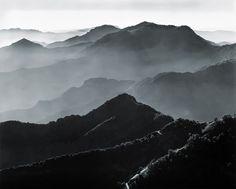 Ansel Adams, Sierra Foothills and Haze, 1942.