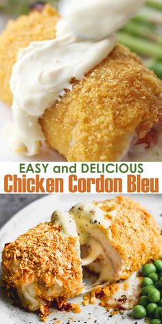 This Homemade Dish Is Crispy And Delicious, Filled With Cheese And Ham. It Is An easy Version Of The Famous French Meal That Is Ready In About One Hour. . Easy Chicken Recipes, Easy Dinner Recipes, Healthy Dinner Recipes, Easy Meals, Cooking Recipes, Ramen Recipes, Inexpensive Meals, Budget Recipes, Frugal Meals