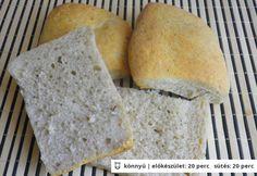 Fokhagymás ciabatta Ciabatta, Bread, Food, Brot, Essen, Baking, Meals, Breads, Buns