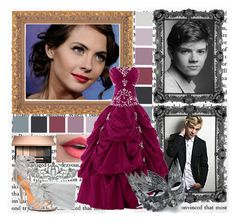 """""""""""I'm pretty sure you aren't a princess...or at least, not yet"""" // Round Two // Selection Book Fandom Battle"""" by newkidsinar ❤ liked on Polyvore featuring Kate Marie, Masquerade, Paul Brodie, Nina and Badgley Mischka"""