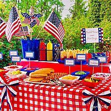 Summer BBQ Ideas-hot dog bar or burger bar Fourth Of July Food, 4th Of July Celebration, 4th Of July Party, July 4th, Summer Deco, Summer Bbq, Summer Parties, Backyard Parties, Backyard Bbq