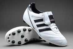 wholesale dealer e776a 8d9b7 Retaining all the qualities of the traditional version, the adidas Kaiser 5  Liga FG football boots are now available in this reversed white and black  ...