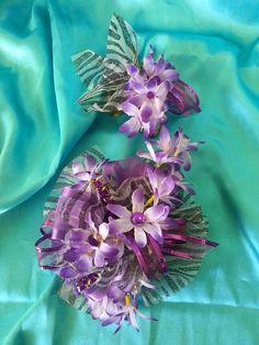 Silk purple & zebra