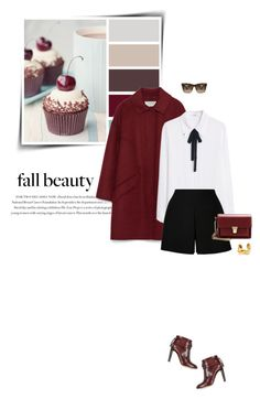 """Cold Weather Essentials: Wool Coat"" by sophiek82 ❤ liked on Polyvore featuring Envi, Zara, Valentino, MANGO, Devon Leigh, Yves Saint Laurent and Marc Jacobs"