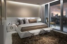 Modern Corner Bed Furniture and Calm Theme Decor in Small Romantic Master Bedroom Decorating Design Ideas Decorating Romantic Master Bedroom Ideas with Modern Furniture