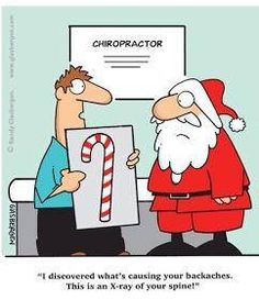 santa has backpain and needs a chiropractor sports chiropractor chiropractic quotes