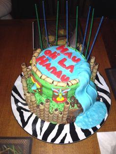 Birthday Cake Hawaiian Style