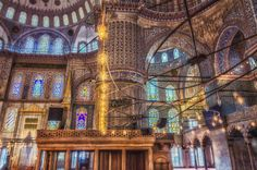 Blue mosque by Uxio  on 500px