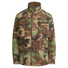 New NWT Polo Ralph Lauren Men Tigers Military USA Army Camo Field Jacket Mens Jackets from top store Military Field Jacket, Camo Jacket, Ralph Lauren Shop, Ralph Lauren Jackets, Army Camo, Military Army, Military Uniforms, Preppy Mens Fashion, Men's Fashion