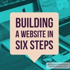 Building a Website in Six Steps - Is it time for your business to reach the next level? If you found this post, then chances are that next level involves an online presence. Great! Now where do you begin?  This post will cover the most basic first steps to getting your business online.
