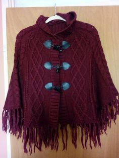 Poncho size M - Was worn couple of times. Wardrobe Sale, Pullover, Clothes For Women, Sweaters, Fashion, Outerwear Women, Moda, La Mode, Sweater