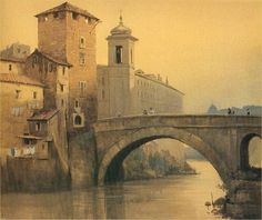 Ettore Roesler Franz (1845-1907, Italy) | Rome