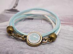 Armbänder & Armreife - Glücksbringer Kids-Wickelarmband  - ein Designerstück von myGreta bei DaWanda