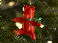 Here is a Teddy Bear ornament I made as a Christmas Gift. There are two versions of the file one with supports built in MeshMixer and one without. There is also a Scarf file for putting around his neck.   My other ornament designs  are here: Kelly Egan's ornaments