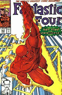 Fantastic Four # 352 by Walter Simonson #fantasticfour #humantorch