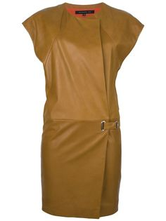 Barbara Bui - belted leather dress 1