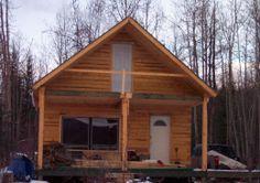 Timber Frame Cabin by littlesalmon4 http://www.cabinbuilds.net/timber-frame-build-by-littlesalmon4