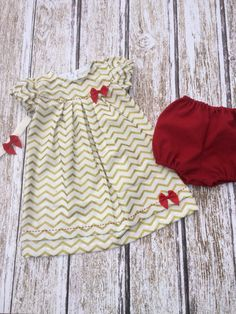 Baby Holiday Dress  Toddler Holiday Dress  by SimplyTotsBoutique